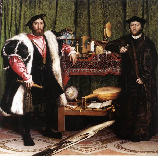 The Ambassadors - Holbein